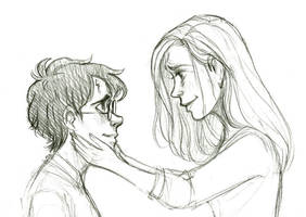 Lily and Harry by courtneygodbey