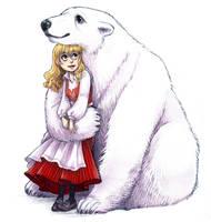 Polar Friends by courtneygodbey