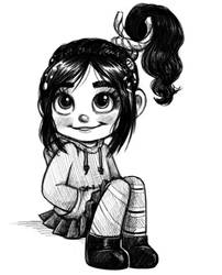 Vanellope by courtneygodbey