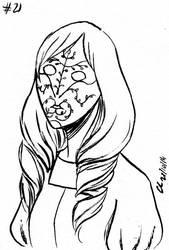 Inktober #21 : Hannah by Chitsuu