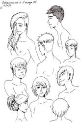 Inking Training #1 by Chitsuu