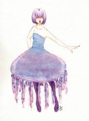 Jellyfish dress by Chitsuu