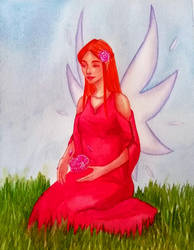 Peony Fairy by Chitsuu
