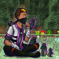 Rythian and his Enderminies by Wuselig
