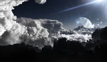 Acima das nuvens  (above the clouds) by Miguel-oliveira
