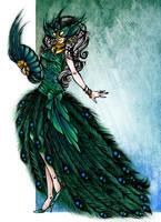 Masquerade. Pavo. by HechiceraRip