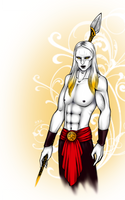 Prince Nuada by HechiceraRip