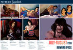 July-August Reward Pack Patreon by JoanDark