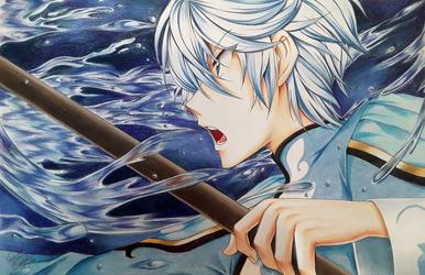 Mikleo - Water Seraph by LightSilverstar