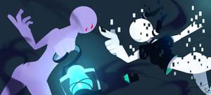Cyan vs. Lantern by MayCyan