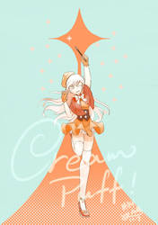 humanized Cream puff cookie by MayCyan
