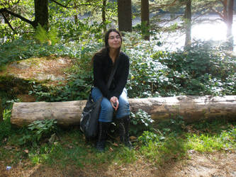 Me at Glendaglough III by Daguona
