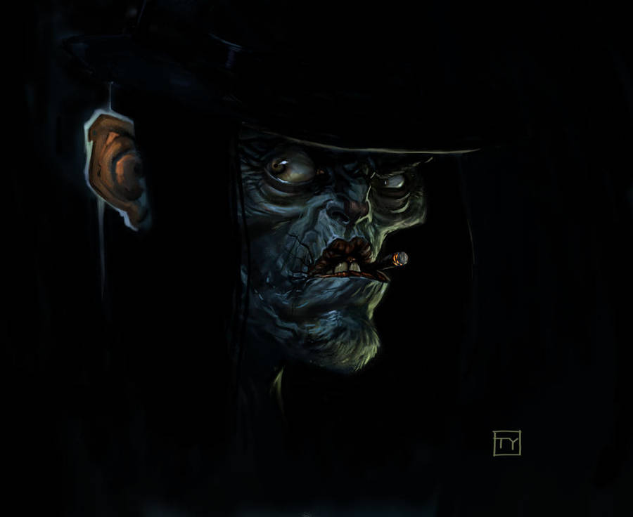 Vampire Cowboy by tycarey
