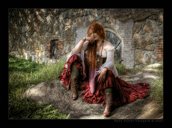 Curse of the Gypsy Witch HDR by Taragon