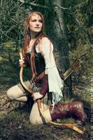 Elven Scout II by Taragon