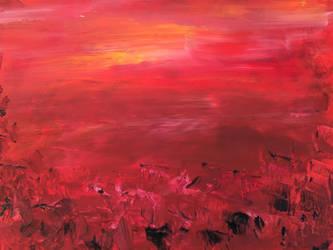 Mars landscape by Itsadequate