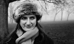 Kathryn on the Heath in the Fog by Itsadequate
