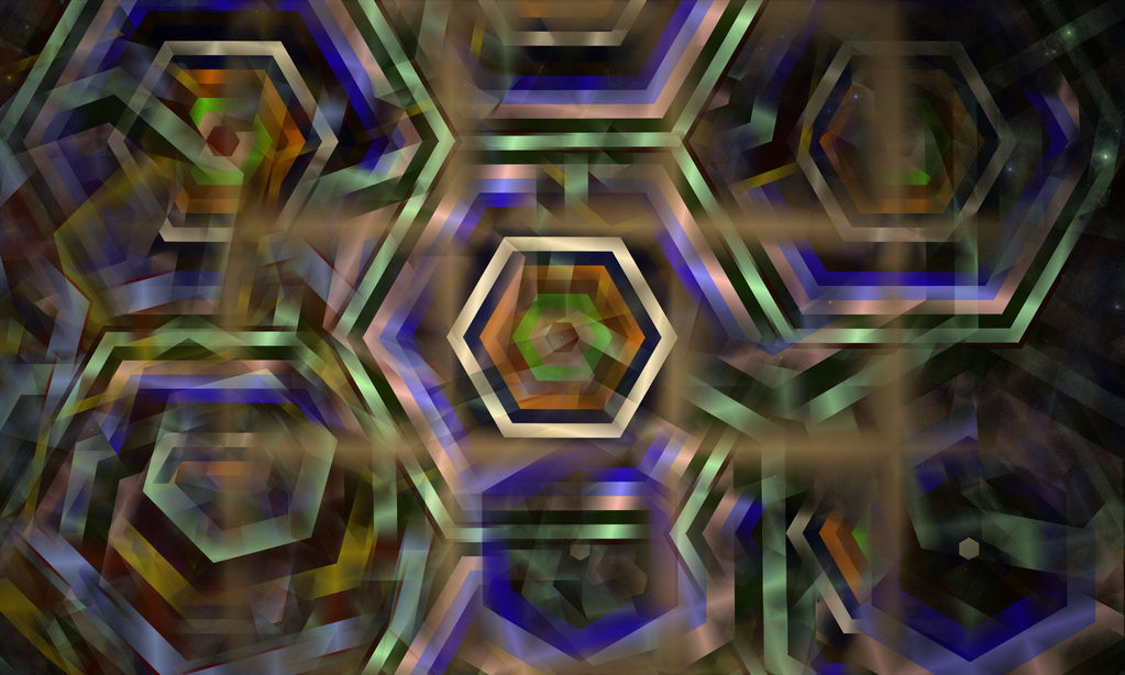 Hexagons by Itsadequate