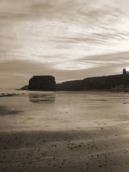 Marsden Beach, South Shields by Itsadequate