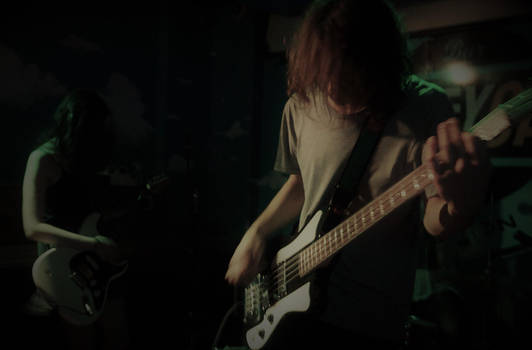 A Void - live gig photograph  by Itsadequate