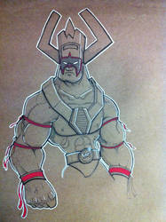 The Ultimate Galactus by xHOJUx