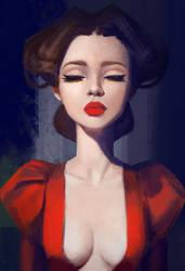 Portrait_Study by Lagunaya