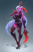 Demon Katarina by Lagunaya