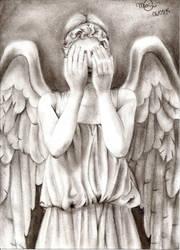 weeping angel by yelowne
