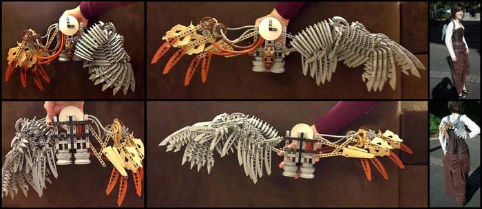 Bionicle Wearable Wings by Kayru-Kitsune