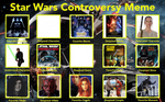 My Star Wars Controversy meme. by THEEVILDOER