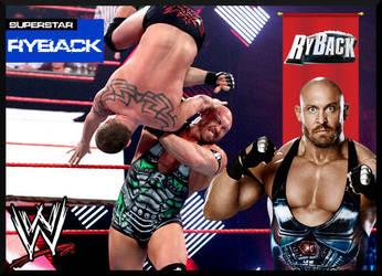 Custom Ryback Trading Card by deviantfafnir
