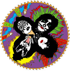 Kiss New Rock and Roll Over by monstercola