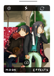 By The Bus Stop by TRCelyne