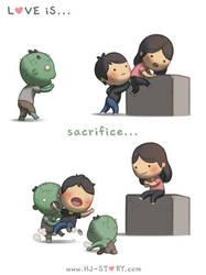 62. Love is... Sacrifice by hjstory