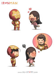 Iron Man by hjstory