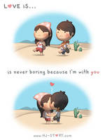 Love is... Never Boring by hjstory