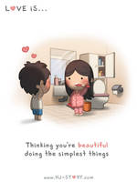 Love is...Thinking You're Beautiful by hjstory