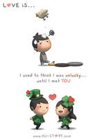 Love is... Lucky Me by hjstory