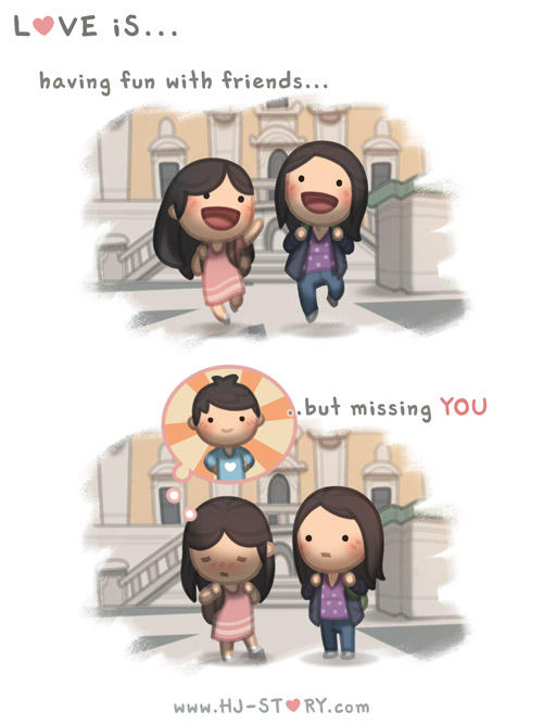 Love is... Missing You by hjstory