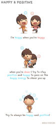 Happy and Positive by hjstory