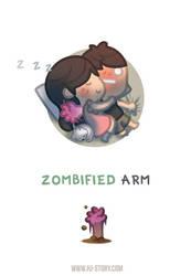 Zombified Arm by hjstory