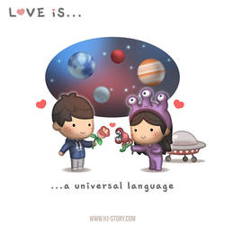 Love is... a universal language by hjstory