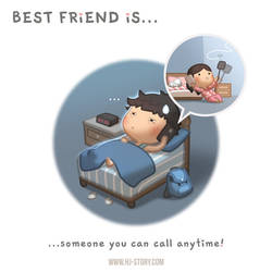 BFF Ep.07 Best Friend is... Call Anytime by hjstory