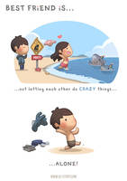 BFF Ep.09 Best Friend is...doing CRAZY things! by hjstory