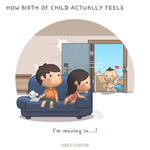 Birth of Child by hjstory