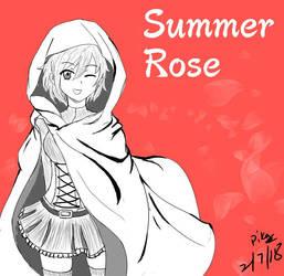 Summer Rose by Bonetiness