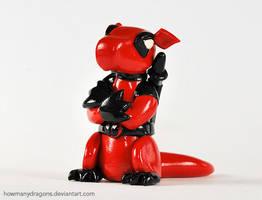 Deadpool Dragon by HowManyDragons