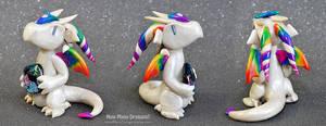 Rainbow Pearl Dragon by HowManyDragons