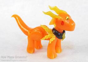 Rainbow Elementals: Lightning Dragon by HowManyDragons