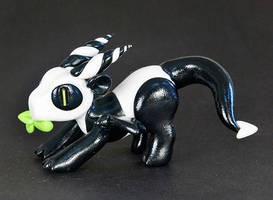 Playful Panda-Dragon by HowManyDragons